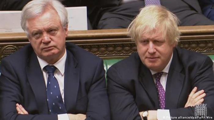 David Davis e Boris Johnson