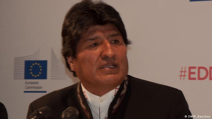 Evo Morales (DW/M. Banchon)