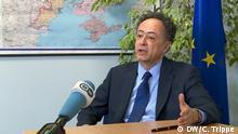 EU-Botschafter Hugues Mingarelli im Interview mit der DW