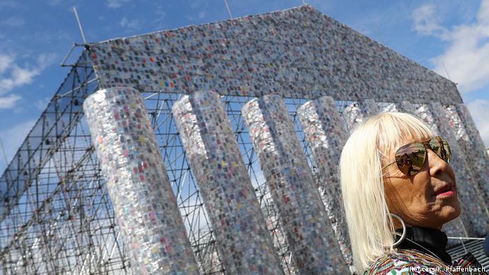Deutschland documenta 14 Temple of books von Marta Minujin