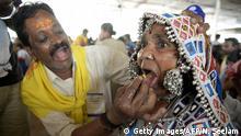 Indien lebende Fische essen gegen Asthma