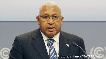 Fiji's President Bainimarama will put the plight of island nations center-stage at COP23