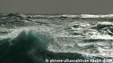 Wellen der Drakepassage, waves in the Drake Passage