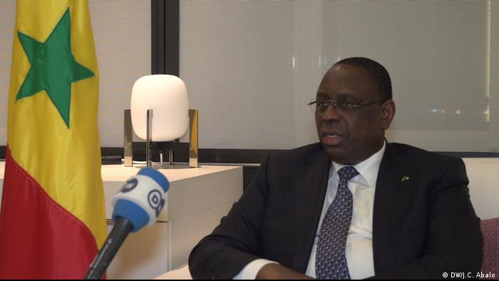 Brüssel - Macky Sall, Präsident Senegal