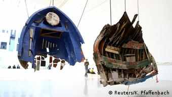 Οι κατακερματισμένες βάρκες- μουσικά όργανα του Γκιγιέρμο Γκαλίντο