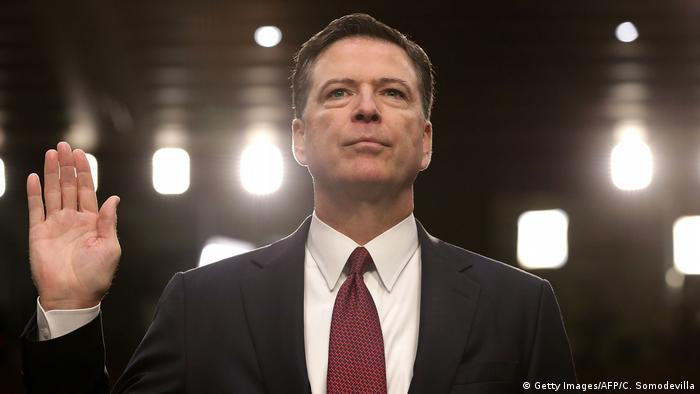 USA Anhörung James Comey, früherer FBI-Direktor (Getty Images/AFP/C. Somodevilla)