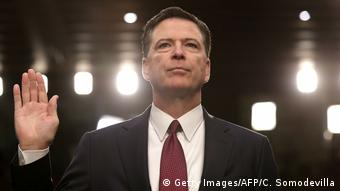 James Comey, gives testimony to the Senate Intelligence Committee (Getty Images/AFP/C. Somodevilla)