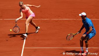 Mixed-Finale der French Open mit Anna-Lena Grönefeld (Getty Images/J. Finney)