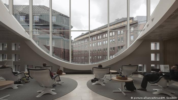 Библиотека университета в Хельсинки