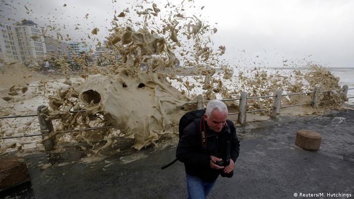 Südafrika Sturm in Kapstadt