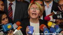 Venezuela - Generalstaatsanwältin Luisa Ortega Diaz leistet weiterhin Widerstand (Getty Images/AFP/L. Robayo)