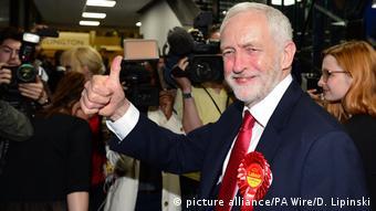 Großbritannien Wahlen 2017 – Jeremy Corbyn (picture alliance/PA Wire/D. Lipinski)