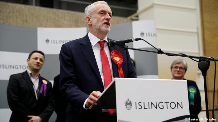 Tories haben Angst vor Jeremy Corbyn