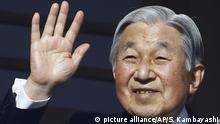 Japan - Abdankung - Kaiser Akihito