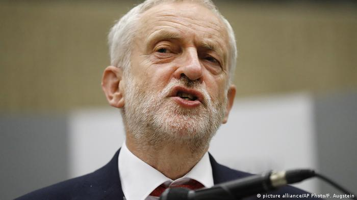 Jeremy Corbyn (picture alliance/AP Photo/F. Augstein)