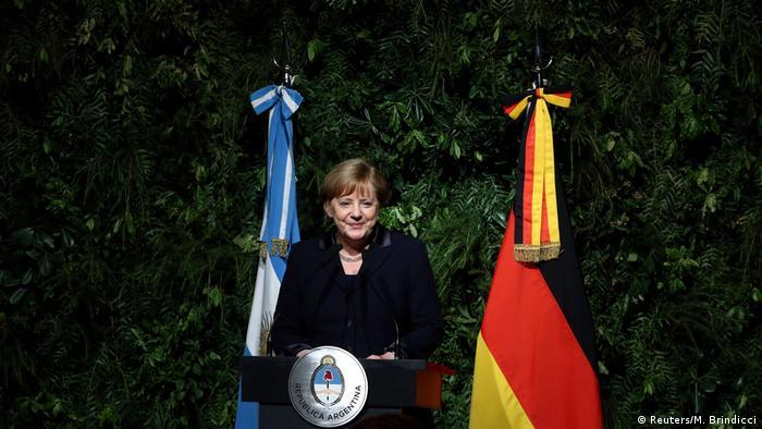 Argentinien - Bundeskanzlerin Angela Merkel besucht Präsident Mauricio Macri (Reuters/M. Brindicci)