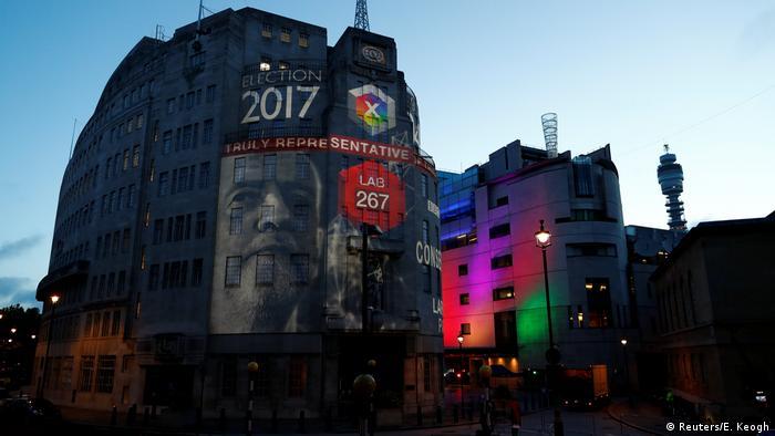 Großbritannien Wahlen 2017 – Wahlausgang - BBC (Reuters/E. Keogh)