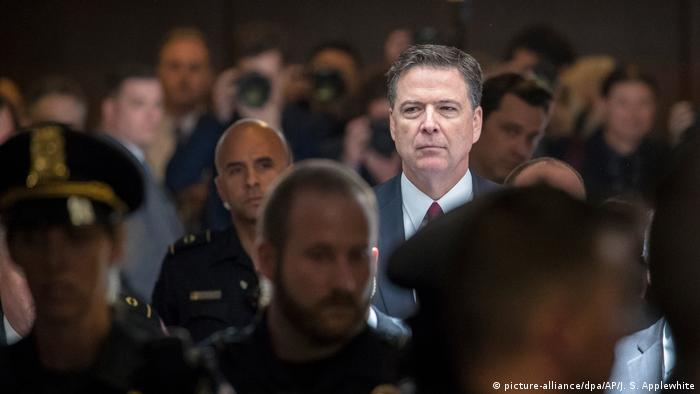 ex-head of the FBI James Comey
