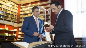 Wolfenbüttel Bundesaußenminister Sigmar Gabriel trifft den katarischen Außenminister Scheich Mohammed Al Thani