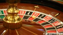 SOCHI, RUSSIA - JANUARY 5, 2017: A roulette table at the first casino in the Krasnaya Polyana gambling zone, at the Gorky Gorod year-round ski resort. The Sochi Casino and Resort complex includes game rooms, two restaurants, a bar, a banquet hall, a convention hall, and shops. Alexander Ryumin/TASS PUBLICATIONxINxGERxAUTxONLY TS03D4BA Sochi Russia January 5 2017 a Roulette Table AT The First Casino in The Krasnaya Polyana Gambling Zone AT The Gorky Gorod Year Round Ski Resort The Sochi Casino and Resort Complex includes Game Rooms Two Restaurants a Bar a Banquet Hall a Convention Hall and Shops Alexander Ryumin TASS PUBLICATIONxINxGERxAUTxONLY TS03D4BA