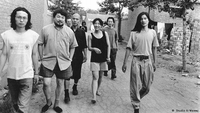 Webspecial zu Künstler Ai Weiwei - Künstlergruppe Stars 1994 in Peking ( Studio Ai Weiwei)