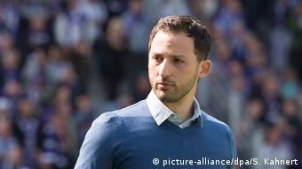 Trainer Domenico Tedesco. Foto: dpa-pa