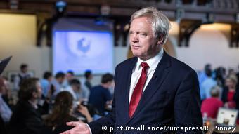 Großbritannien David Davis Verhandlungsführer Brexit (picture-alliance/Zumapress/R. Pinney)