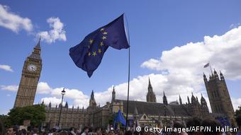 Großbritannien Protest gegen Brexit (Getty Images/AFP/N. Hallen)