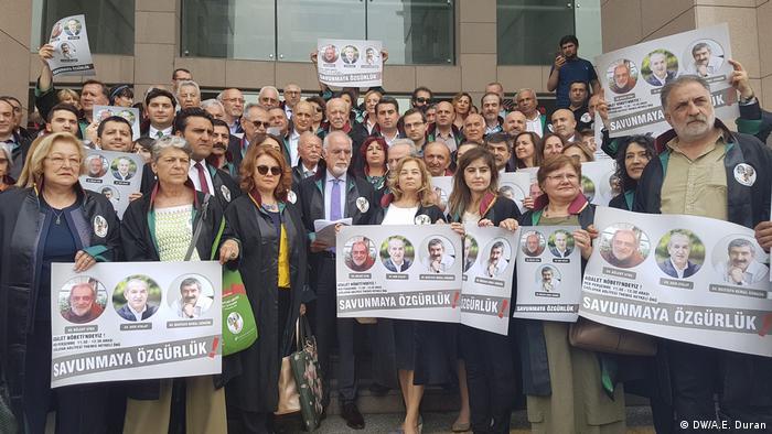 Türkei Protest von Anwälten