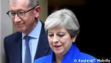 London Theresa May und Ehemann