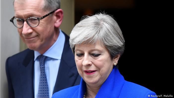 London Theresa May und Ehemann (Reuters/T. Melville)