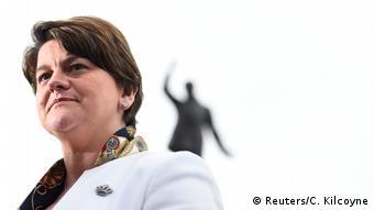 Arlene Foster, Parteichefin der nordirischen DUP
