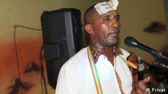 Äthiopien - Dejen Manchelot Musiker in Masinqo