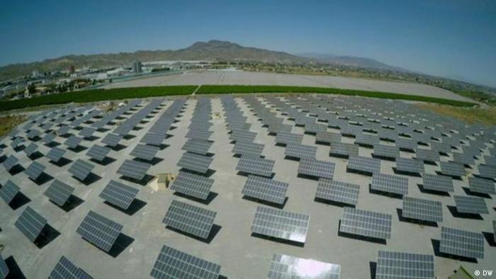 Солнечные батареи в Испании