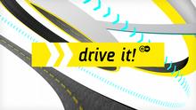 DW Drive it! (Sendungslogo Motor mobil englisch)