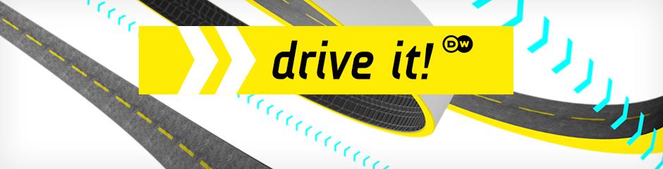 DW Drive it! (Themenheader Motor mobil englisch)
