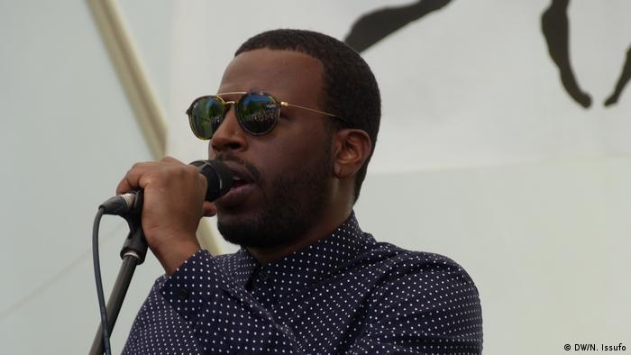 Dino D'Santiago, músico cabo-verdiano