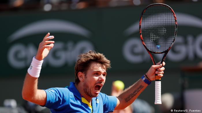 French Open 2017 - Stan Wawrinka vs. Andy Murray (Reuters/G. Fuentes)
