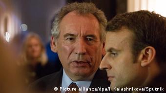 Emmanuel Macron und Francois Bayrou
