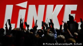 На съезде Левой партии в Эрфурте (фото из архива)