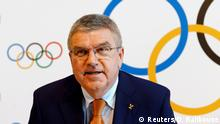 Schweiz Lausanne IOC-Treffen - Präsident Thomas Bach