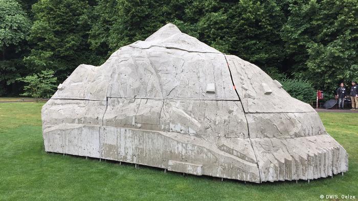 Deutschland Skulpturprojekt in Münster (DW/S. Oelze)