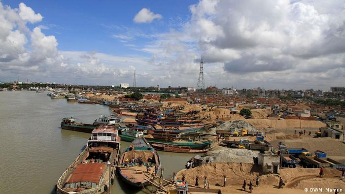 Bangladesch Flussverschmutzung - Turag (DW/M. Mamun)