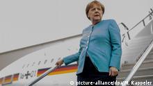 Mexiko Bundeskanzlerin Angela Merkel Ankunft in Mexiko-Stadt
