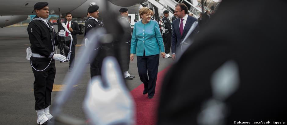 Premiê alemã se pronunciou sobre Reino Unido em visita ao México