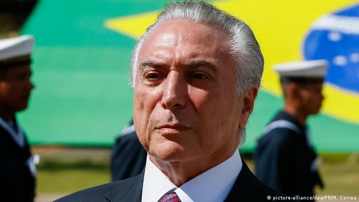 Brasilien Präsident Michel Temer in Brasilia (picture-alliance/dpa/PR/M. Correa)