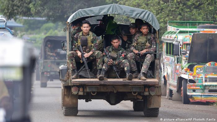 Kampfzone Marawi Philippinen