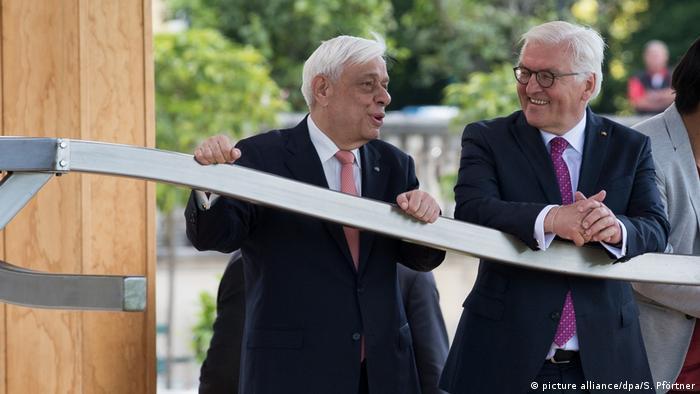 Deutschland Steinmeier und Pavlopoulos geben Startschuss zur Documenta 2017 (picture alliance/dpa/S. Pförtner)
