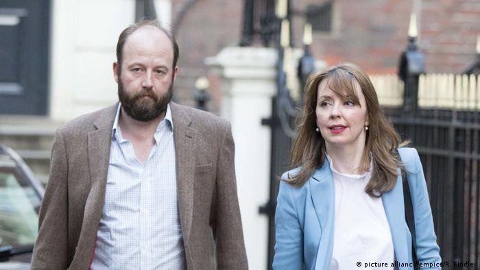 UK Nick Timothy and Fiona Hill (picture alliance/empics/R. Findler)