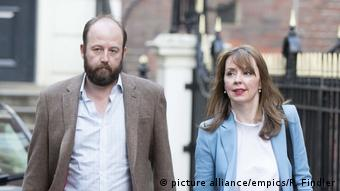 Nick Timothy und Fiona Hill